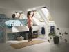Velux Standard Plus - felső kilincses műanyag bevonatos tetőtéri ablak