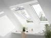 Velux Standard - felső kilincses műanyag bevonatos tetőtéri ablak